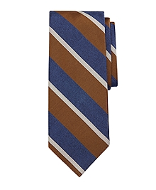 Melange Sidewheeler Stripe Tie