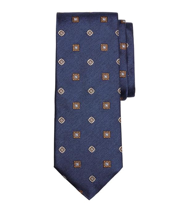 Melange Spaced Medallion Tie
