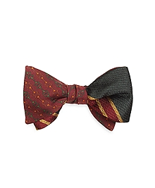 Horsebit Link with Large BB#2 Stripe Reversible Bow Tie