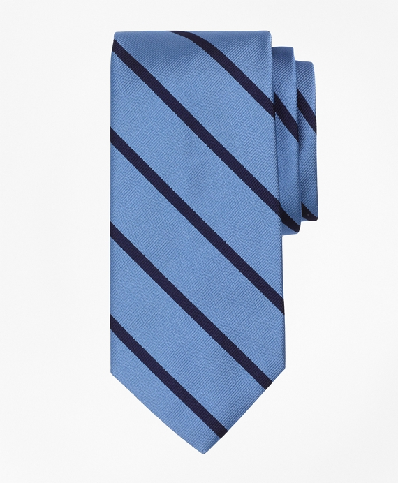 BB#3 Repp Tie Light Blue-Navy