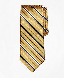Alternating Framed Stripe Tie