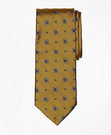 Herringbone Medallion Tie