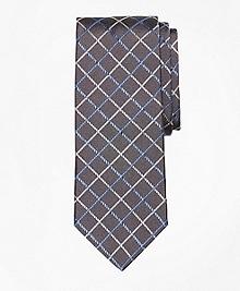 Double Windowpane Tie