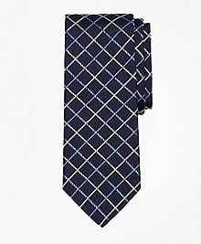 Double Windowpane Tie