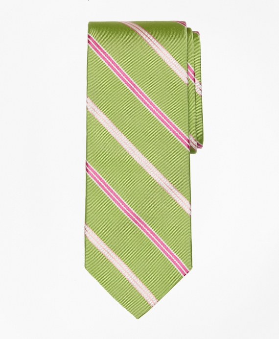 Alternating Split Stripe Tie