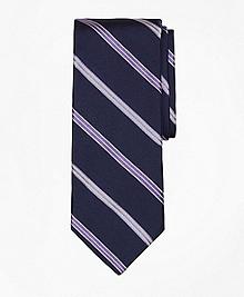 Alternating Split Stripe Tie