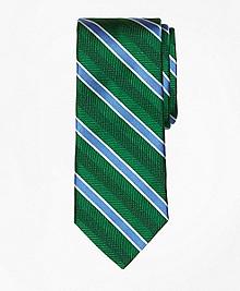 Bold Textured Stripe Tie