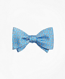 Snail Print Bow Tie
