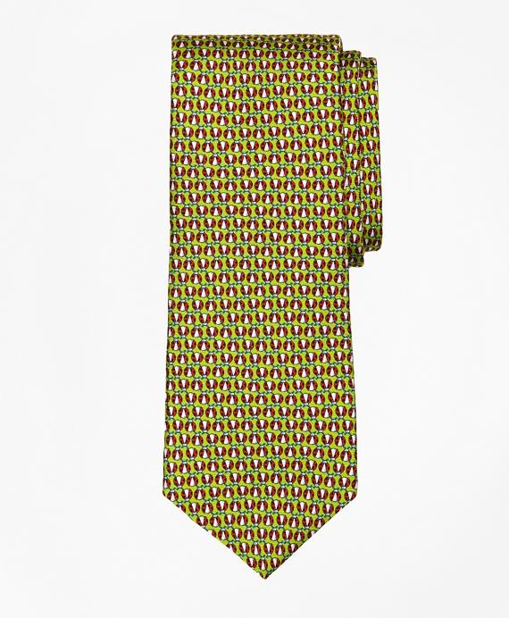Ladybug Print Tie