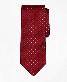 Textured Circle Tie