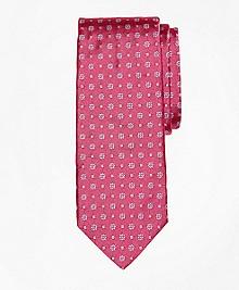 Parquet Flower Tie