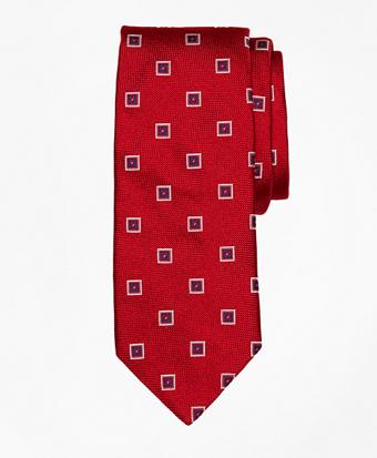 Square Medallion Tie