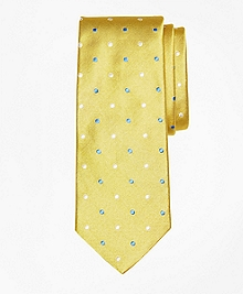 Alternating Polka Dot Tie