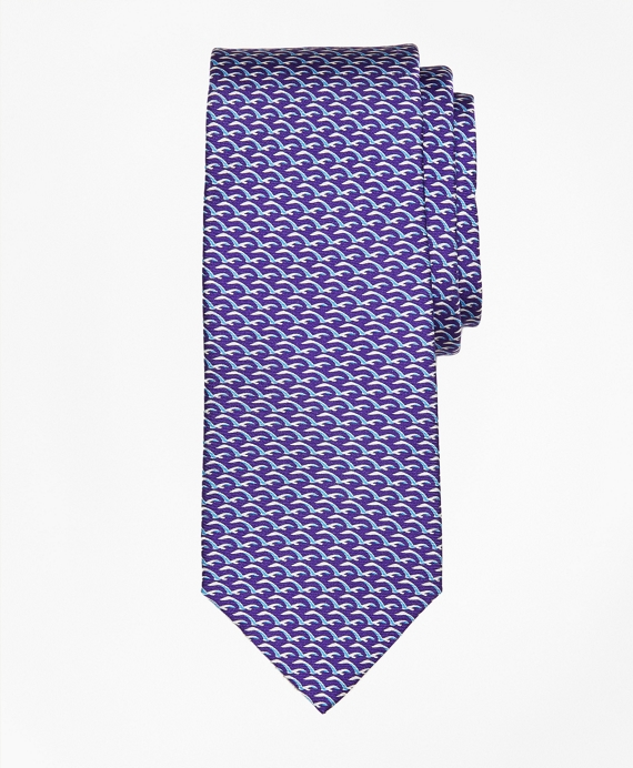 Seagull Print Tie