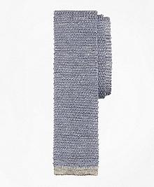 Melange Knit Tie