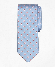 Spaced Foulard Tie
