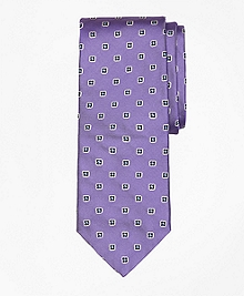 Spaced Foulard Tie