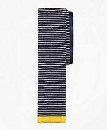 Multi Stripe Knit Tie