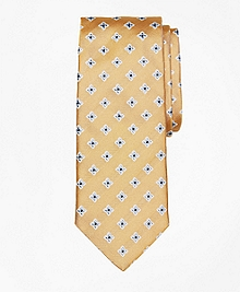 Four-Petal Medallion Tie