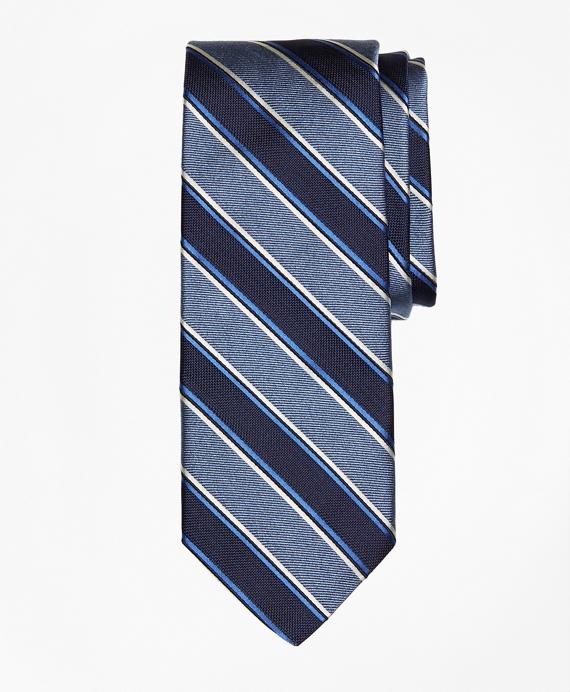 Melange Bold Stripe Tie