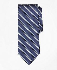 Herringbone Sidewheeler Stripe Tie