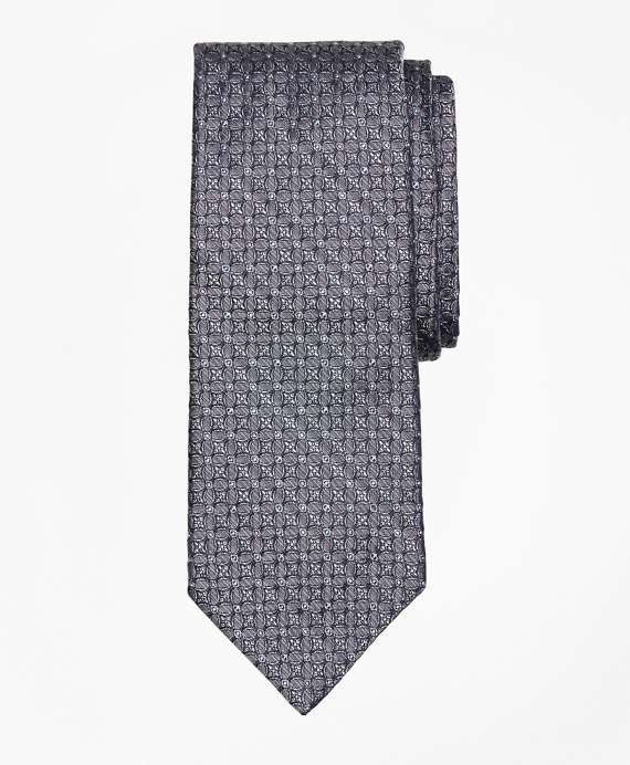 Chambray Medallion Tie