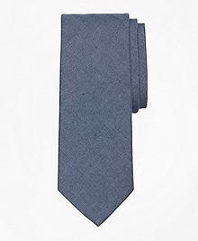 Chambray Herringbone Tie