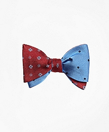 Medallion with Polka Dot Bow Tie