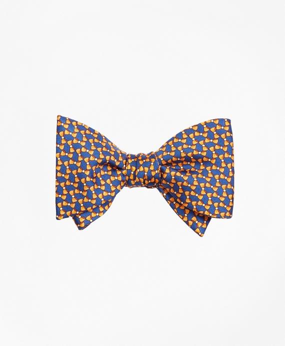 Bow Tie Motif Bow Print Tie