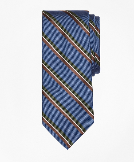 Split Bar Stripe Tie