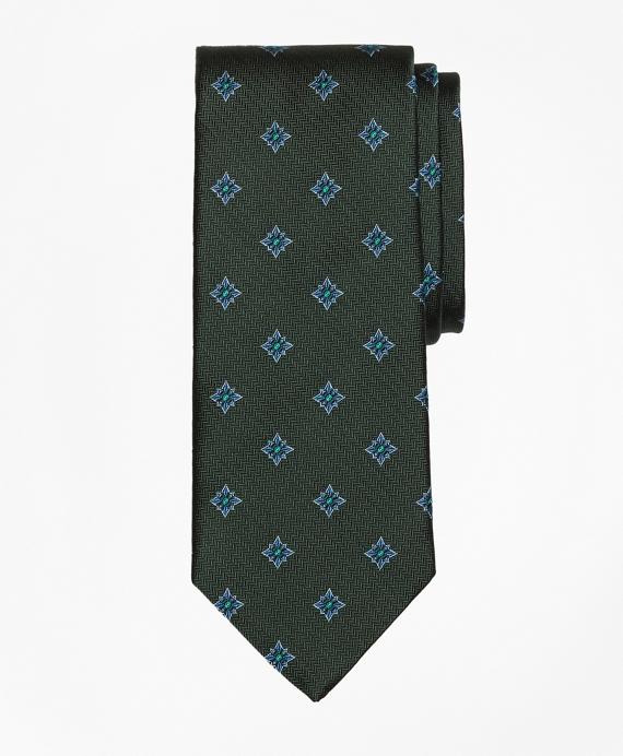Herringbone Starburst Tie