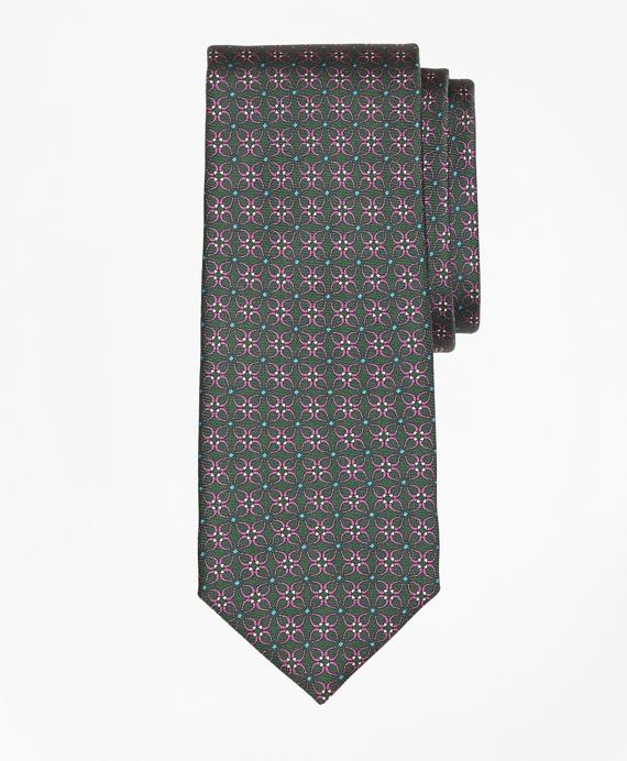 Horseshoe Link Print Tie