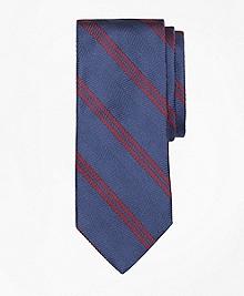 Herringbone Double Stripe Tie