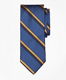 Textured Split Sidewheeler Stripe Tie