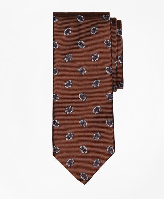 Oval Flower Tie