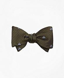 Golden Fleece® Houndscheck Bow Tie
