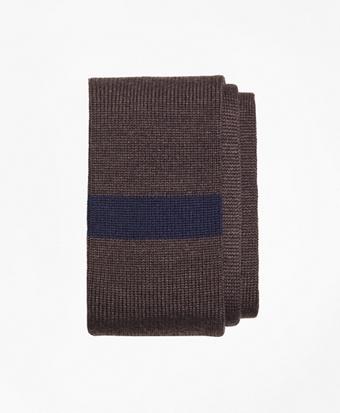 Color-Block Knit Tie