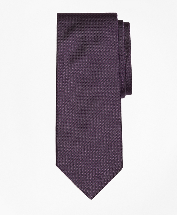 Houndtooth Tie Purple