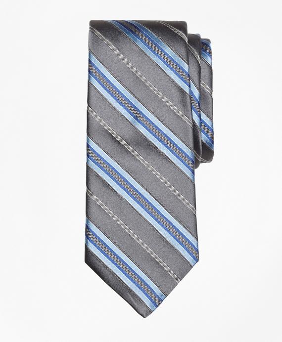 Split Stripe Tie