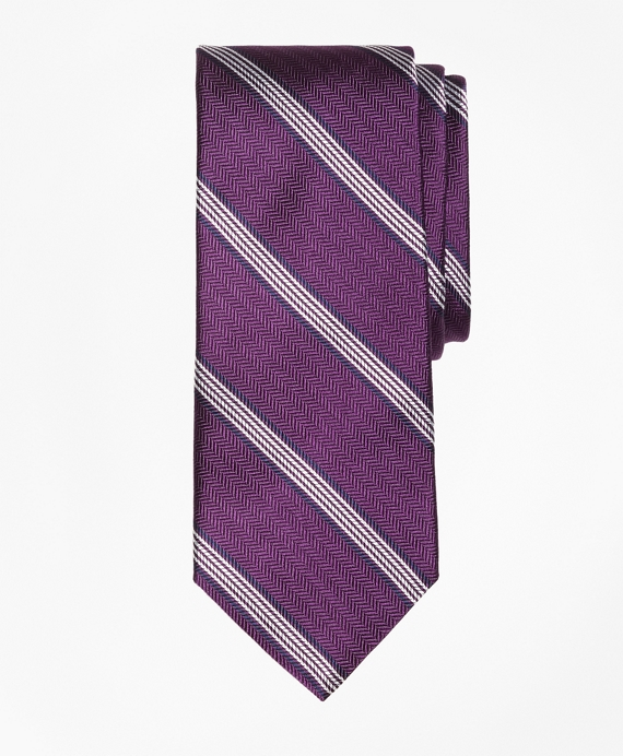 Herringbone Music Stripe Tie