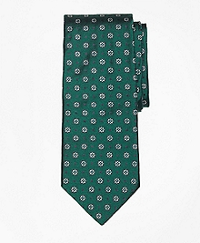 Flower and Dot Tie
