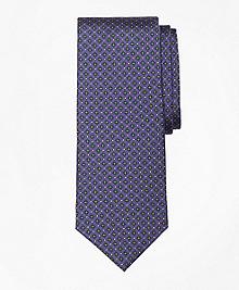Mini Multi-Flower Print Tie