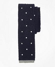 Dot Knit Tie