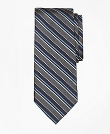 Sidewheeler Herringbone Stripe Tie