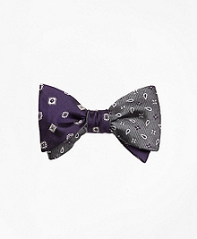 Multi-Medallion with Spaced Flower Reversible Bow Tie