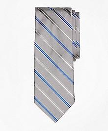 Alternating Split Double Stripe Tie