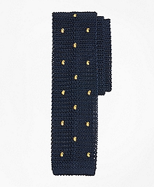 Tossed Pine Knit Tie