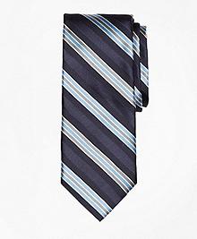 Alternating Frame Stripe Tie