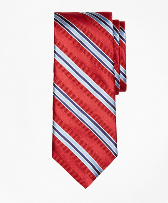 Alternating Frame Stripe Tie