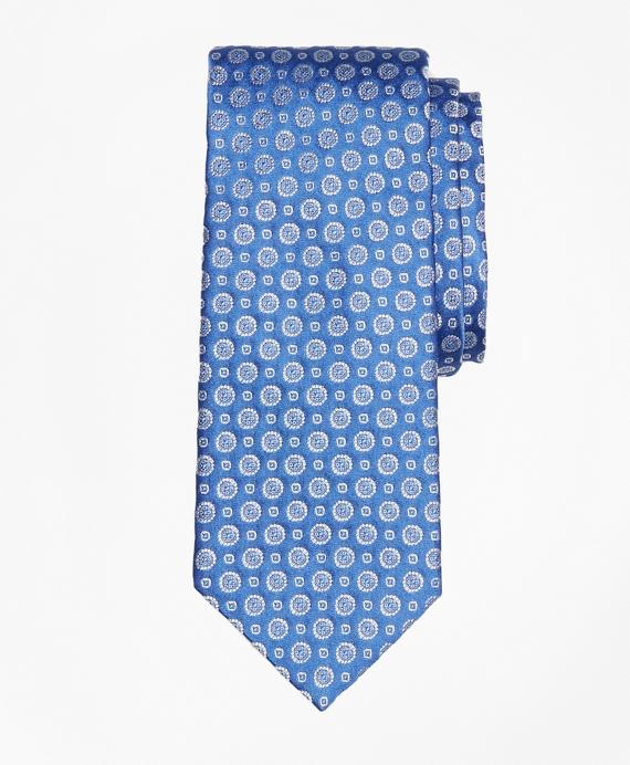 Floral Alternating Medallion Tie